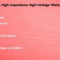 ES105 高阻高压表