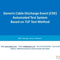 TS002 Cable Discharge Event (CDE) Automated Evaluation System Based on TLP Method